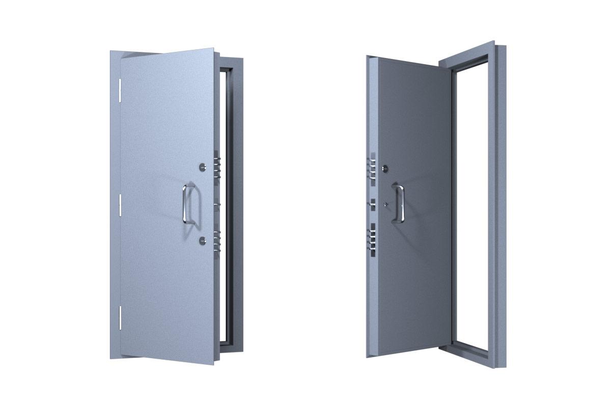 Взрывостойкая стальная дверь Бр4 тнт 500